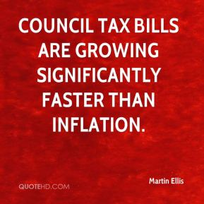 Council tax bills are growing significantly faster than inflation.