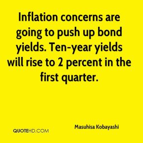 Masuhisa Kobayashi  - Inflation concerns are going to push up bond yields. Ten-year yields will rise to 2 percent in the first quarter.
