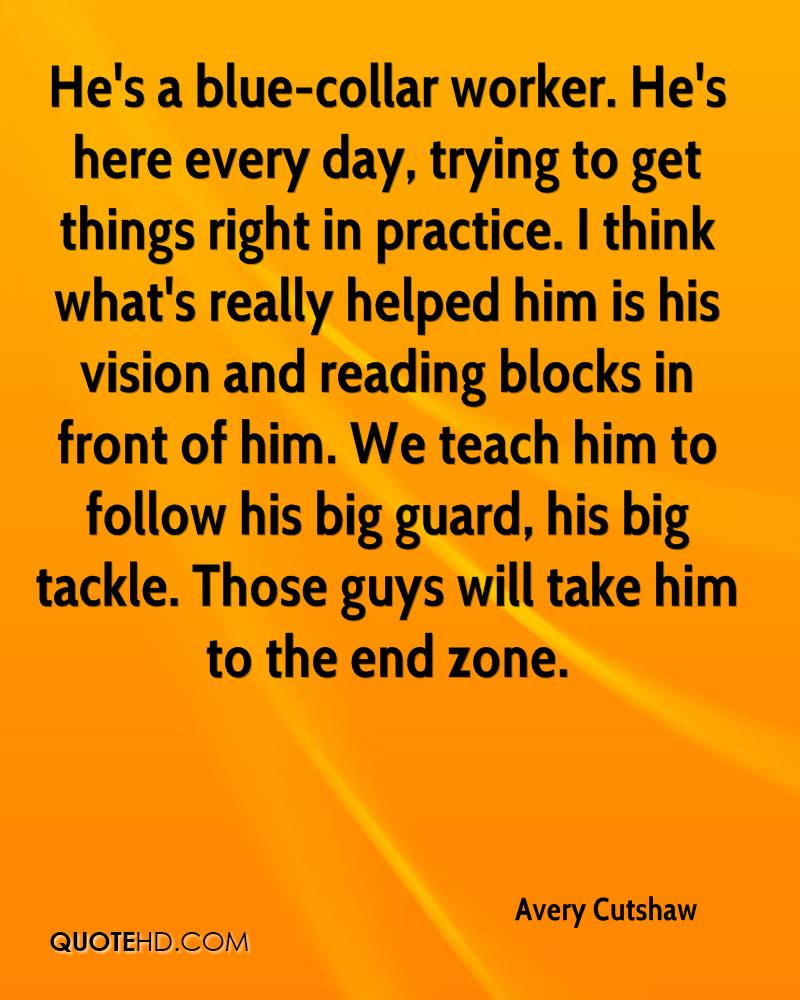 He's a blue-collar worker. He's here every day, trying to get things right in practice. I think what's really helped him is his vision and reading blocks in front of him. We teach him to follow his big guard, his big tackle. Those guys will take him to the end zone.