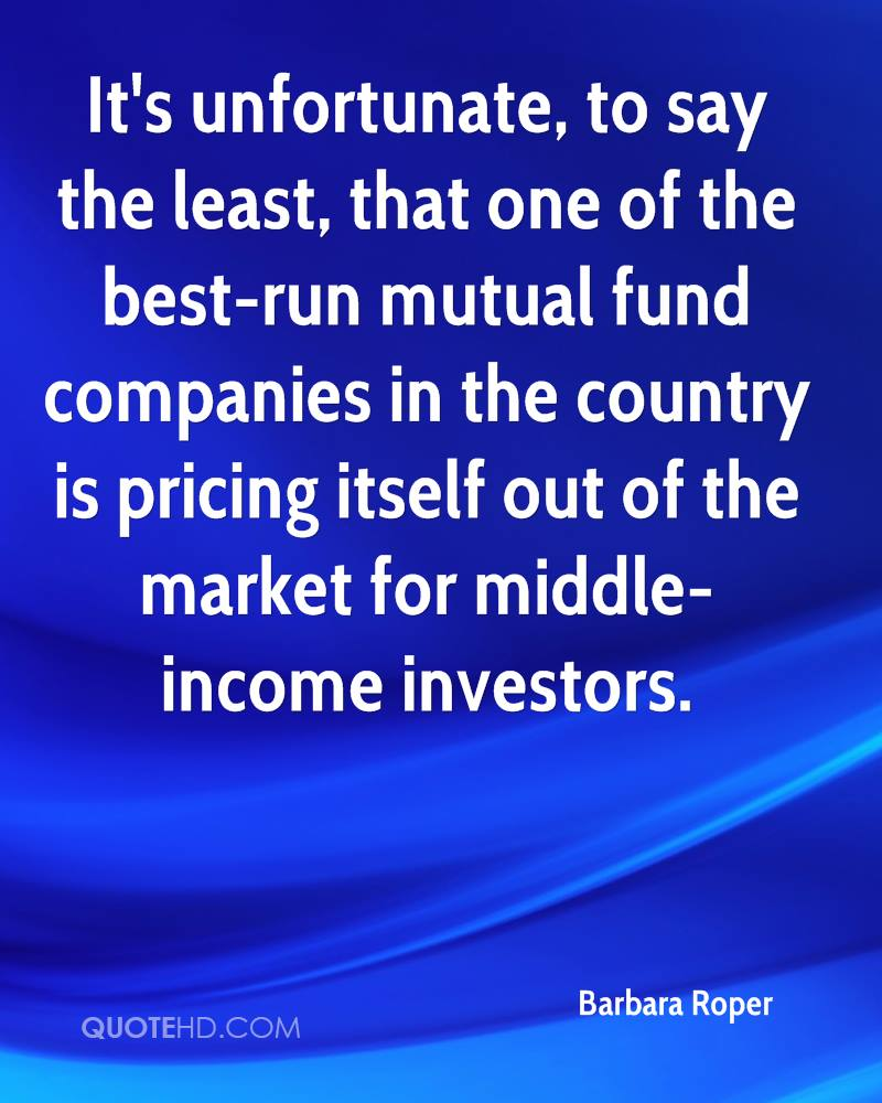 Mutual Fund Quotes Barbara Roper Quotes  Quotehd
