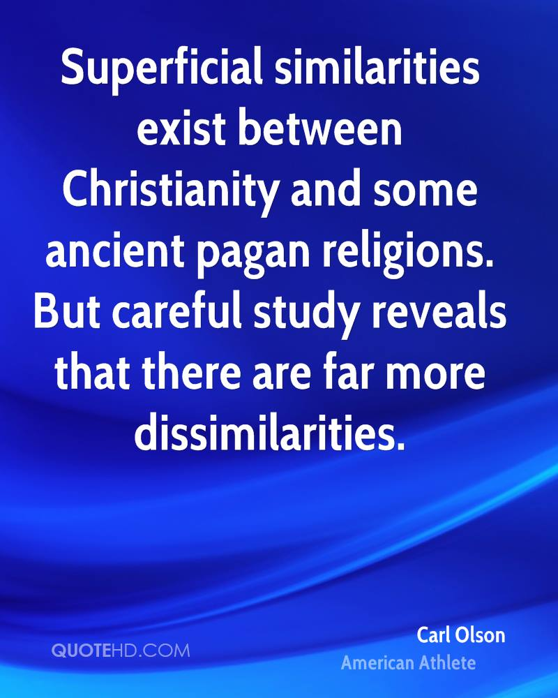 a look at christianity and its crimes against pagans A large compilation of christian crimes since its advent, with dates: as soon as christianity became legal in the roman empire by imperial edict (315), more and more pagan temples were destroyed by christian mob.