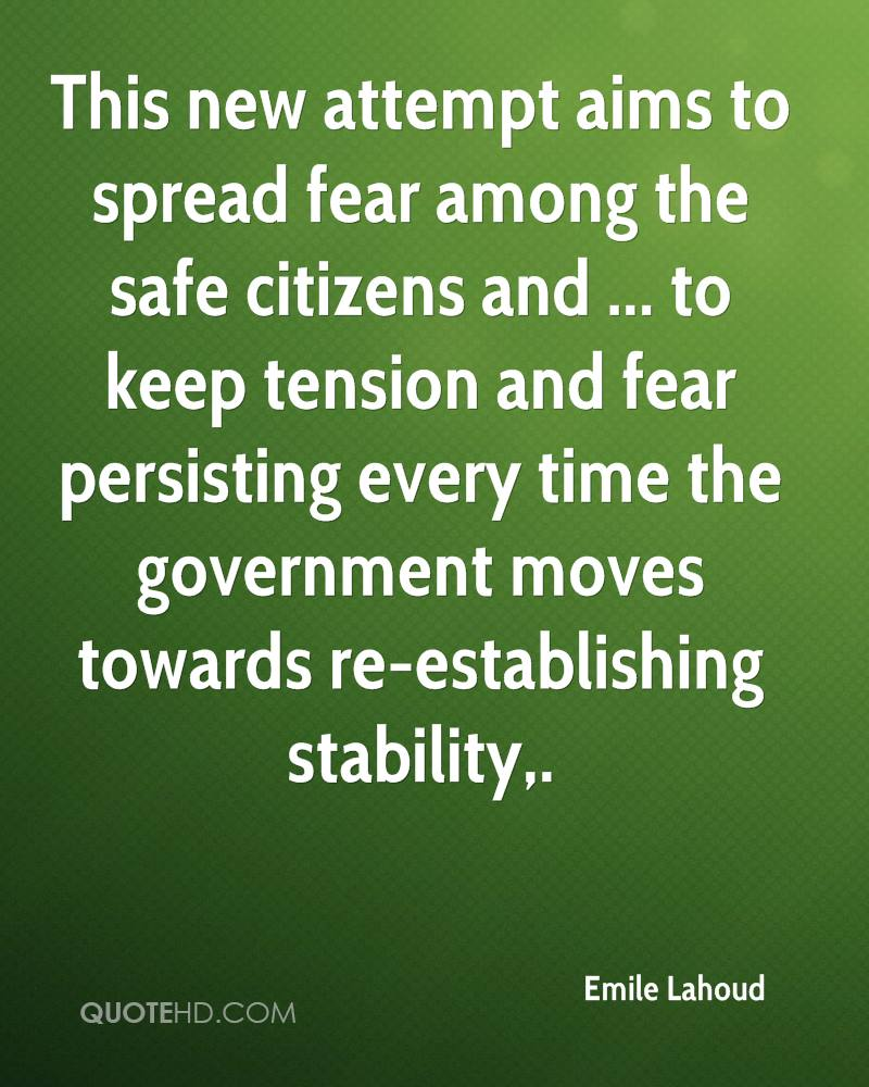 This new attempt aims to spread fear among the safe citizens and ... to keep tension and fear persisting every time the government moves towards re-establishing stability.
