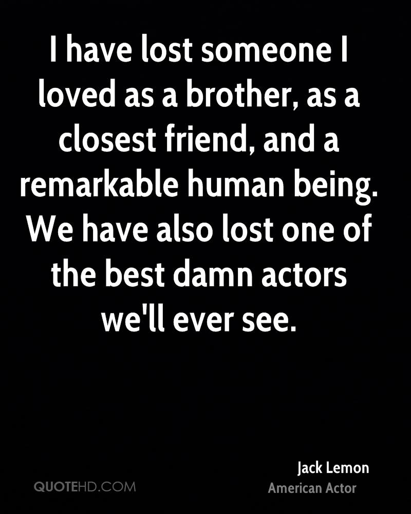 Lost Of A Loved One Quotes Jack Lemon Quotes  Quotehd