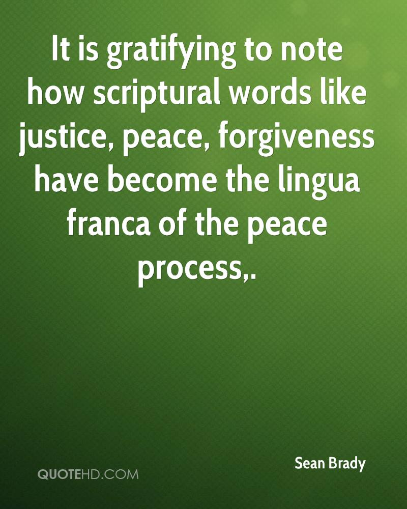 Justice And Peace Quotes: Sean Brady Forgiveness Quotes