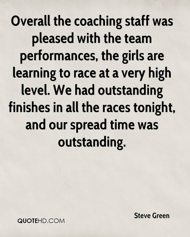 Overall the coaching staff was pleased with the team performances, the girls are learning to race at a very high level. We had outstanding finishes in all the races tonight, and our spread time was outstanding.