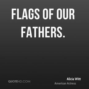 Alicia Witt - Flags of Our Fathers.