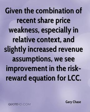 Given the combination of recent share price weakness, especially in relative context, and slightly increased revenue assumptions, we see improvement in the risk-reward equation for LCC.