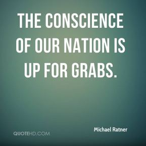The conscience of our nation is up for grabs.