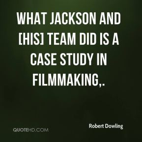 What Jackson and [his] team did is a case study in filmmaking.