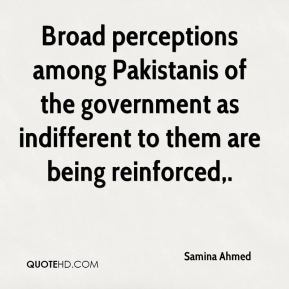 Broad perceptions among Pakistanis of the government as indifferent to them are being reinforced.