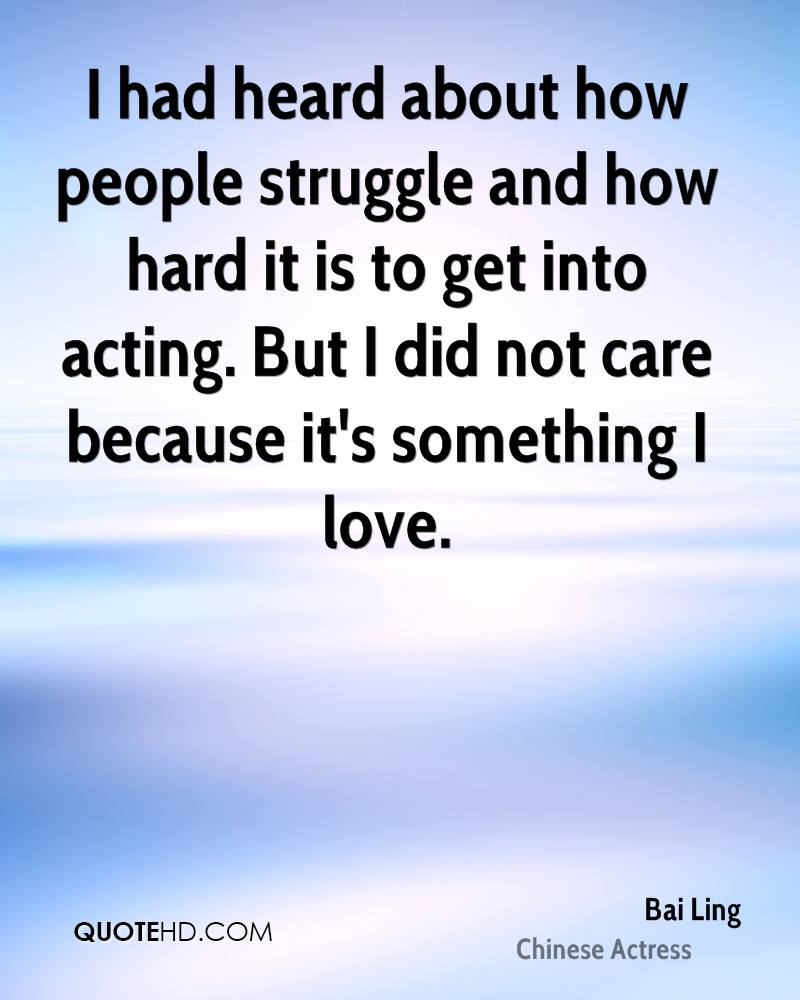 Love And Struggle Quotes Bai Ling Quotes  Quotehd