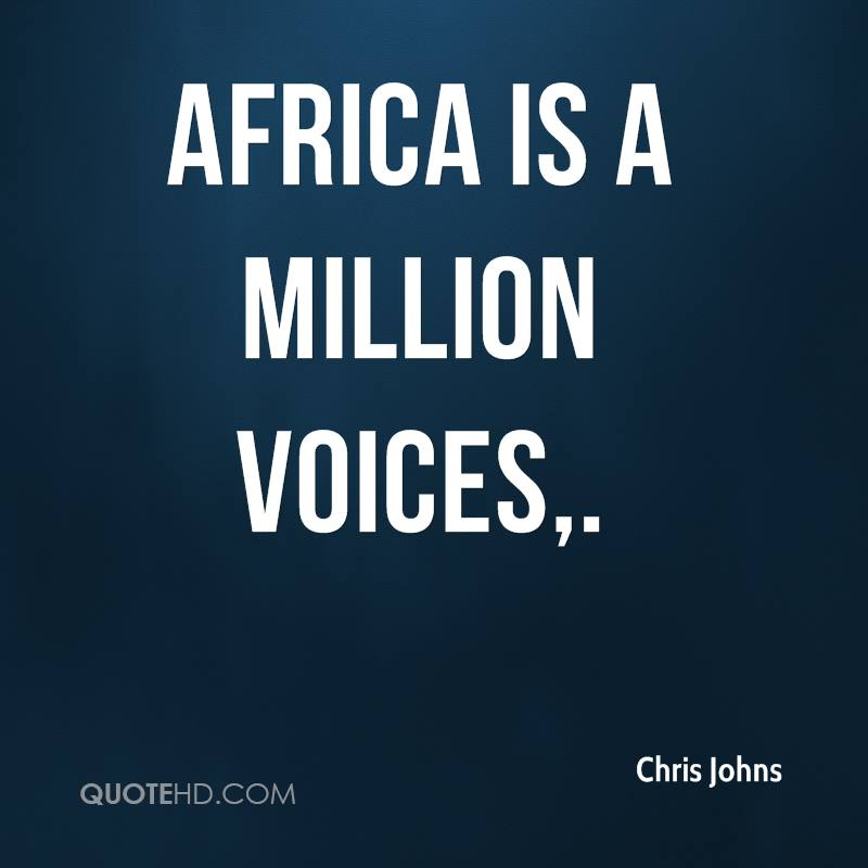 million voices uniting africa Check out million voices by wyclef jean feat african children's choir on amazon music stream ad-free or purchase cd's and mp3s now on amazoncom.