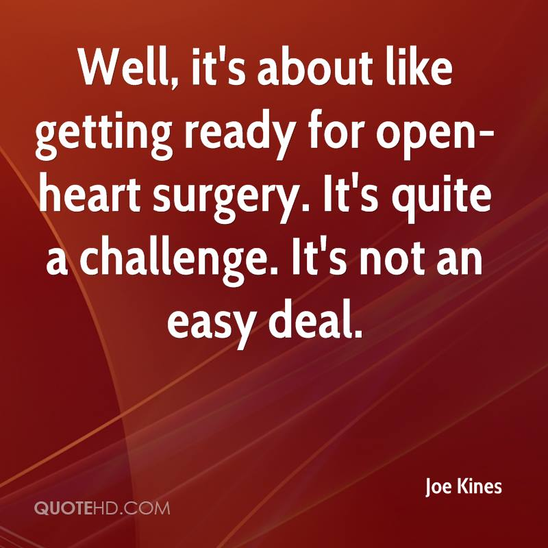 Surgery Quotes Simple Heart Surgery Quotes Page 48 QuoteHD