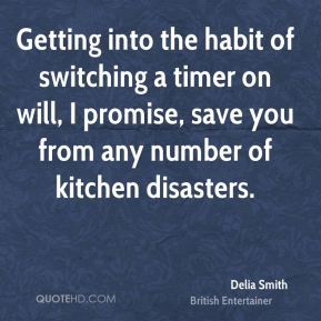 Getting into the habit of switching a timer on will, I promise, save you from any number of kitchen disasters.