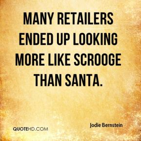 Many retailers ended up looking more like Scrooge than Santa.