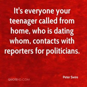 Peter Swire  - It's everyone your teenager called from home, who is dating whom, contacts with reporters for politicians.