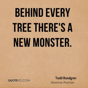 Behind every tree there's a new monster.