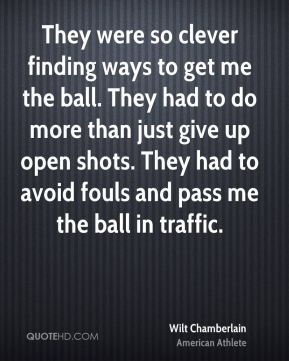 They were so clever finding ways to get me the ball. They had to do more than just give up open shots. They had to avoid fouls and pass me the ball in traffic.
