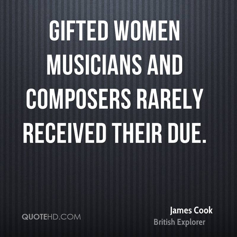 Gifted women musicians and composers rarely received their due.