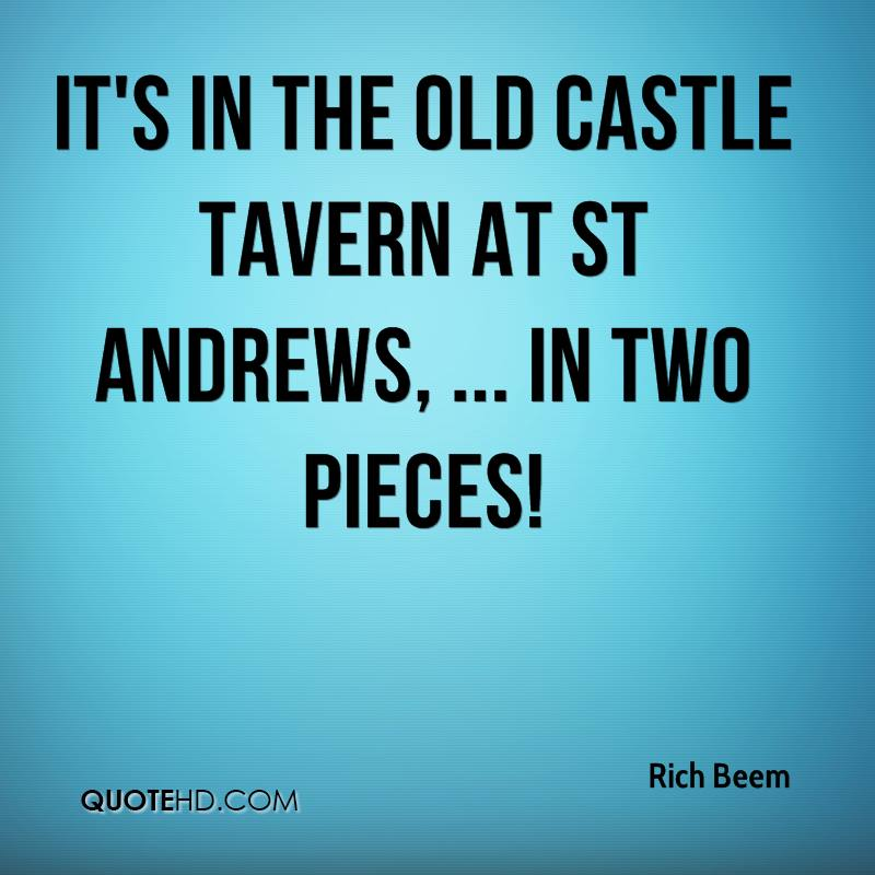 old castle quote