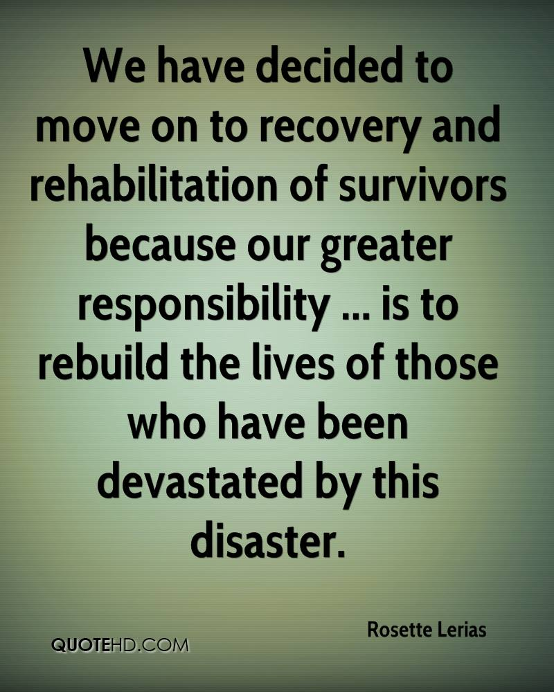 Quotes About Recovery Rosette Lerias Quotes  Quotehd