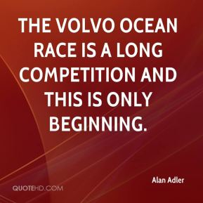 The Volvo Ocean Race is a long competition and this is only beginning.