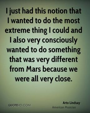 Arto Lindsay - I just had this notion that I wanted to do the most extreme thing I could and I also very consciously wanted to do something that was very different from Mars because we were all very close.