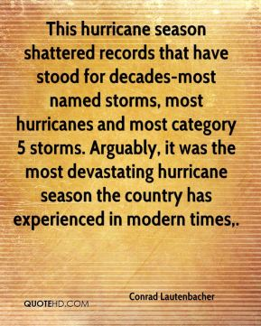This hurricane season shattered records that have stood for decades-most named storms, most hurricanes and most category 5 storms. Arguably, it was the most devastating hurricane season the country has experienced in modern times.