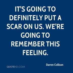 Darren Collison - It's going to definitely put a scar on us. We're going to remember this feeling.