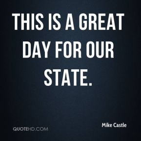 This is a great day for our state.
