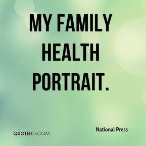 My Family Health Portrait.