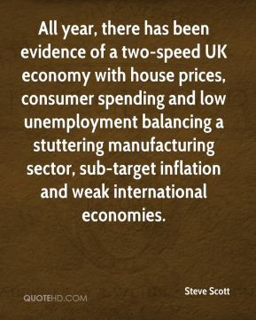 All year, there has been evidence of a two-speed UK economy with house prices, consumer spending and low unemployment balancing a stuttering manufacturing sector, sub-target inflation and weak international economies.