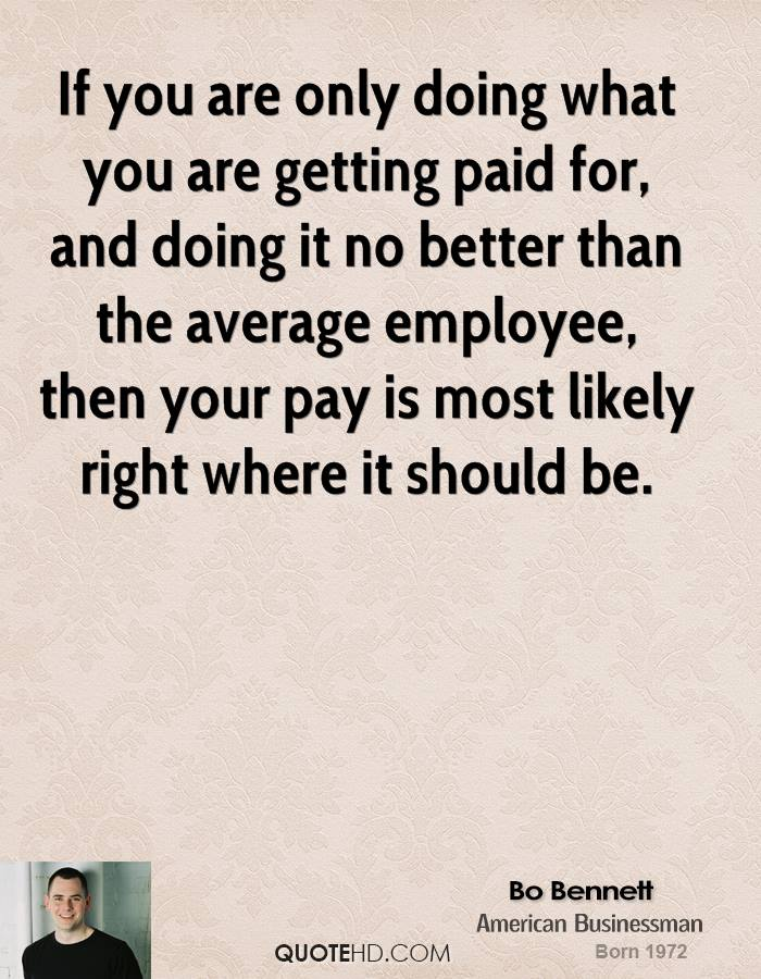 how to ask if you are getting paid