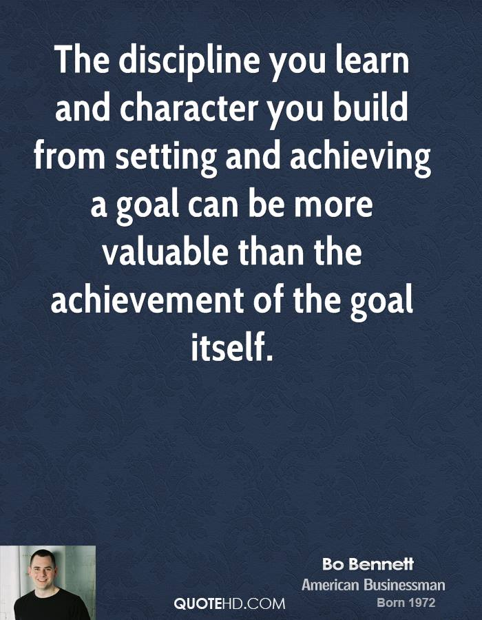 the discipline of building character Character is forged at those defining moments when a manager must choose between right and right.