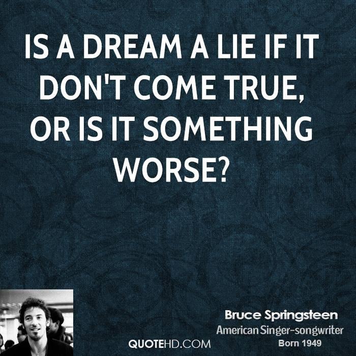 Bruce Springsteen Quotes | QuoteHD