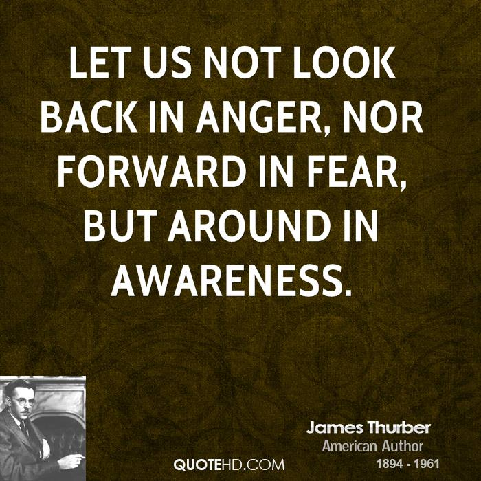 James Thurber Anger Quotes
