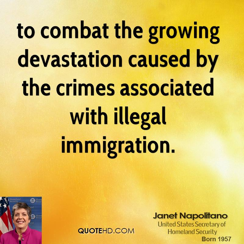 to combat the growing devastation caused by the crimes associated with illegal immigration.