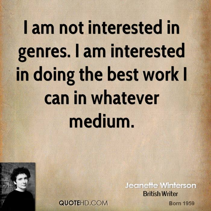 I Am Doing The Best I Can Quotes: Jeanette Winterson Quotes