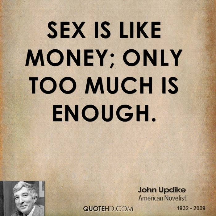 how much sex is good enough