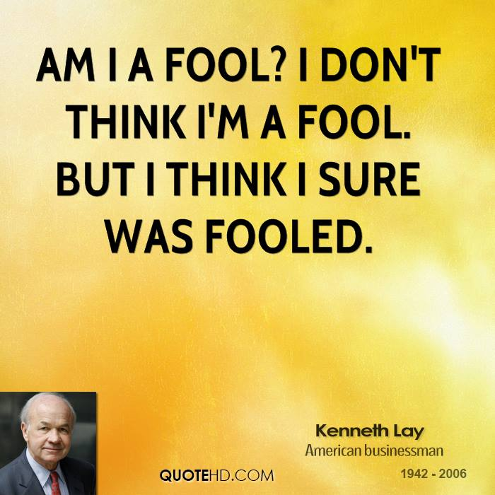 Kenneth Lay Quotes | QuoteHD