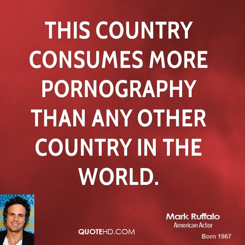 This country consumes more pornography than any other country in the world.
