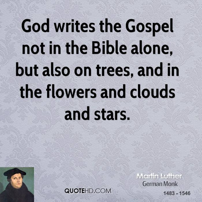 Gospel Quotes Classy Martin Luther Quotes QuoteHD
