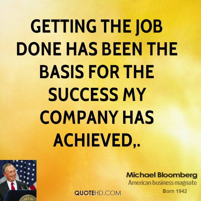 Getting the job done has been the basis for the success my company has achieved.