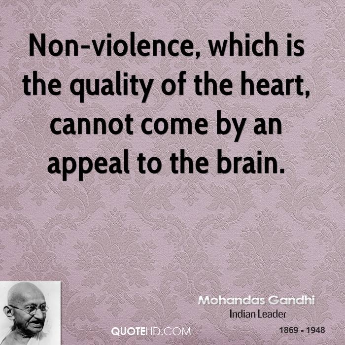 essay on mahatma gandhi and non violence