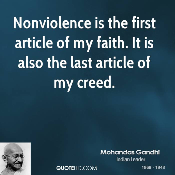 gandhi peace quotes quotesgram