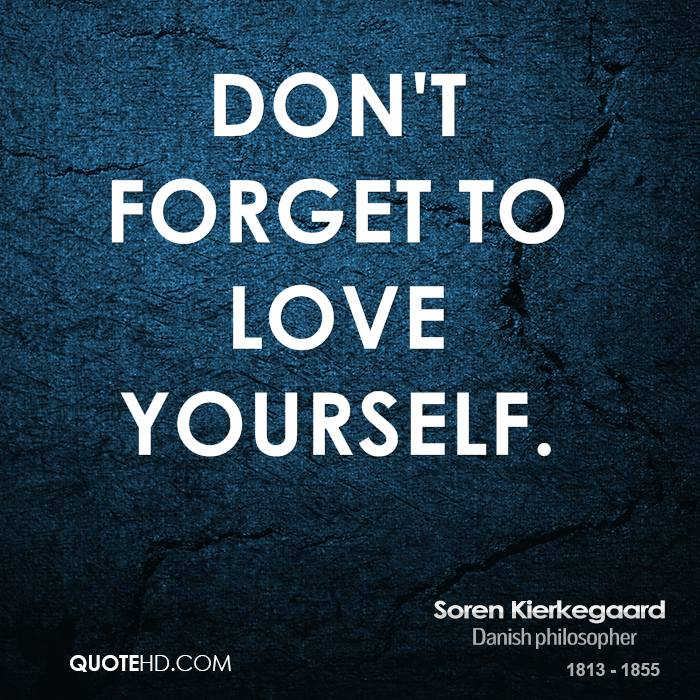 Don Forget Love Yourself