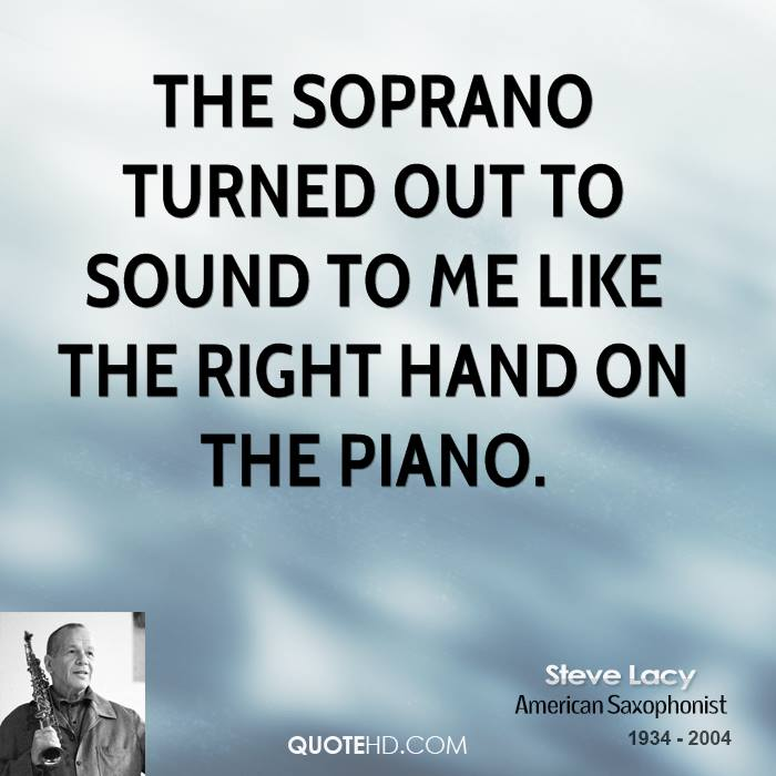 The soprano turned out to sound to me like the right hand on the piano.