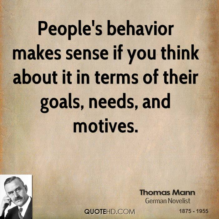 people behaviour This article discusses the development of human behaviour  parts of the body ( in addition to people and objects) in the course of his emotional development.