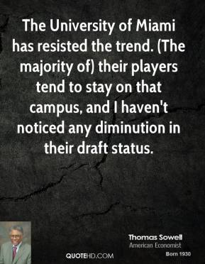 The University of Miami has resisted the trend. (The majority of) their players tend to stay on that campus, and I haven't noticed any diminution in their draft status.