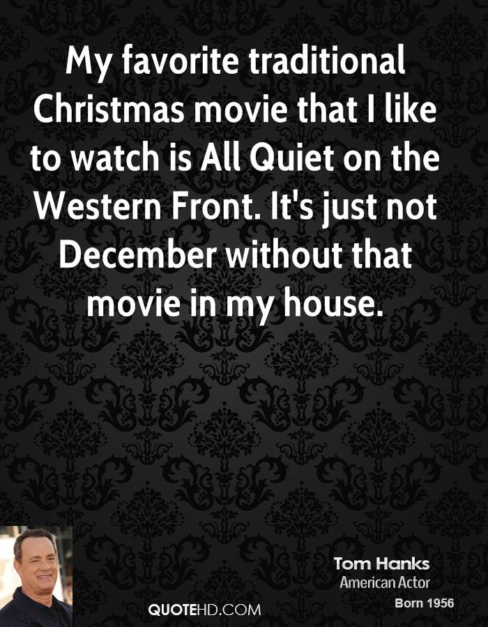 Tom Hanks Christmas Quotes Quotehd